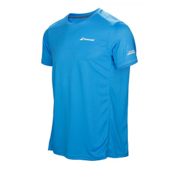Футболка детская Babolat Core Flag Club (Blue) для большого тенниса