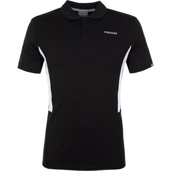 Мужская футболка Head Club Tech (Black) для большого тенниса