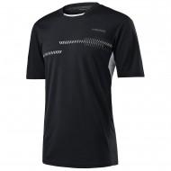Мужская футболка Head Club Technical (Black) для большого тенниса