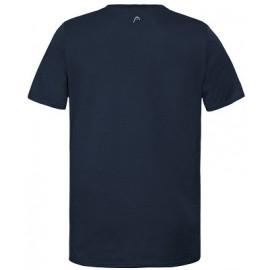 Мужская футболка Head Raquet (Dark blue/Red) для большого тенниса