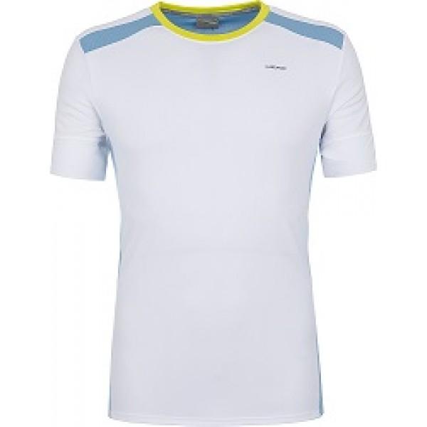 Мужская футболка Head Uni (Белый/Голубой) для большого тенниса