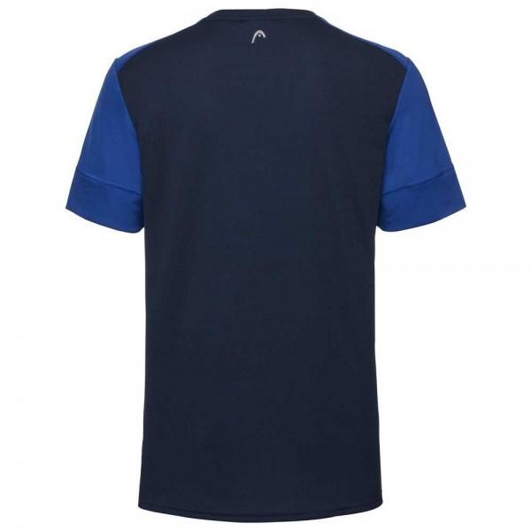 Мужская футболка Head Uni (Синий/Темно-синий) для большого тенниса