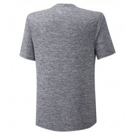 Мужская футболка Mizuno Core Graphic RB Tee (Grey) для большого тенниса