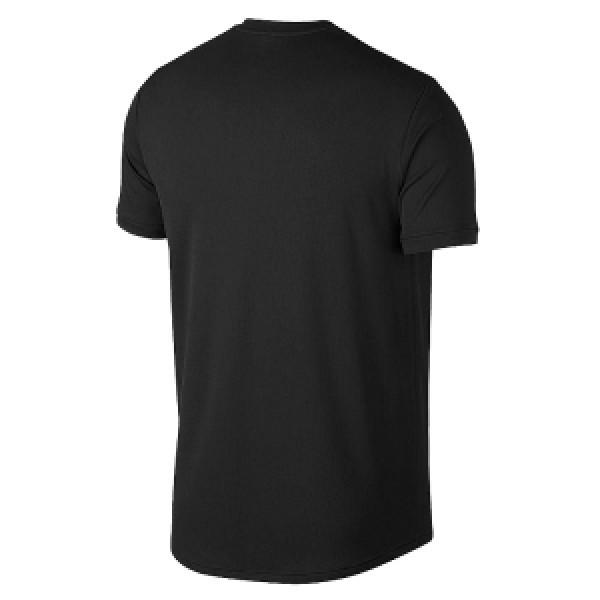 Мужская футболка Nike Court Dri-FIT (Black) для большого тенниса