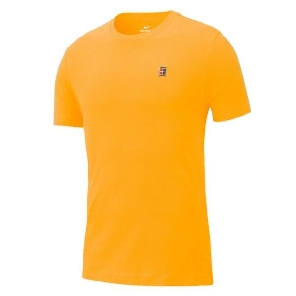 Мужская футболка Nike Court (Yellow) для большого тенниса