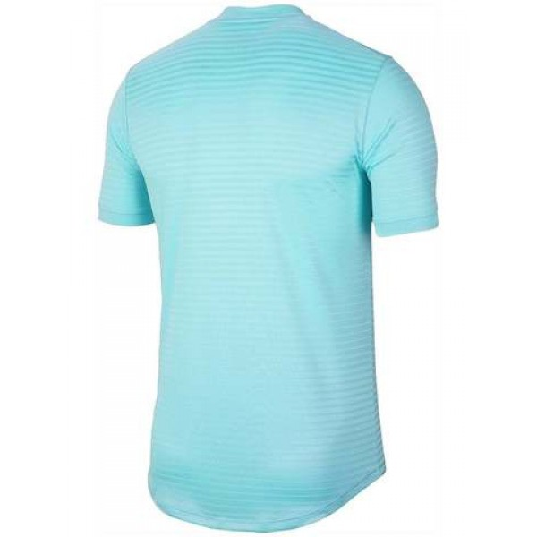 Мужская футболка Nike Rafa Challenger (Blue) для большого тенниса