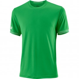 Мужская футболка Wilson Team Solid Crew (Toucan/White) для большого тенниса