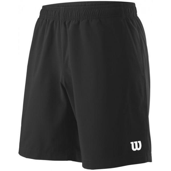 Мужские шорты Wilson Team 8 (Black) для большого тенниса