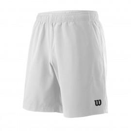 Мужские шорты Wilson Team 8 (White) для большого тенниса