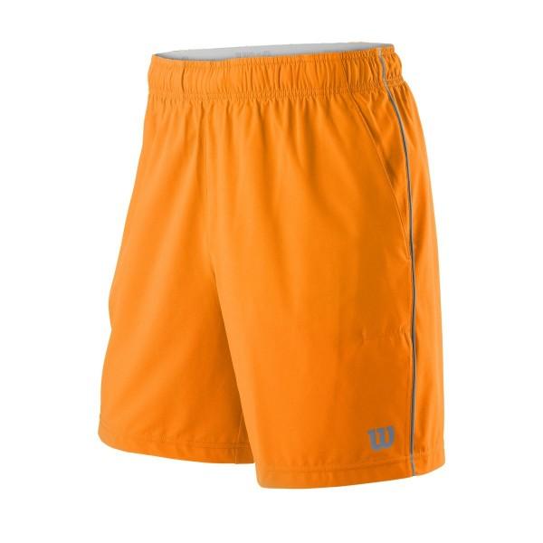 Мужские шорты Wilson Competition 8 (Mandarin/Flint) для большого тенниса