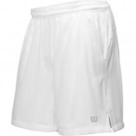 Мужские шорты Wilson Rush 9 Woven (White) для большого тенниса