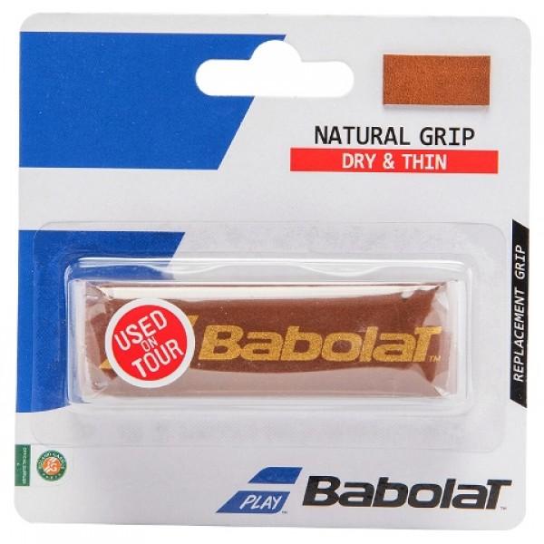 Базовая намотка из натуральной кожи Babolat Natural Grip