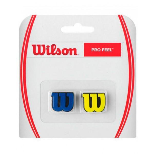 Виброгаситель Wilson Pro Feel Синий/Желтый