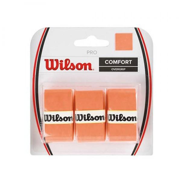 Теннисная намотка Wilson Pro Overgrip Burn Оранжевый