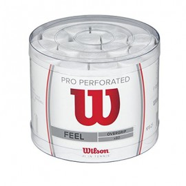 Теннисная намотка Wilson Pro Overgrip Perforated 60 штук