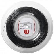 Теннисная струна Wilson Revolve  Black 200 метров