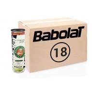 Теннисные мячи Babolat French Open All Court 72 мяча (18 по 4)