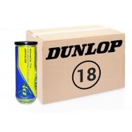 Теннисные мячи Dunlop Championship All Surface 72 мяча (18 по 4)
