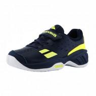 Детские теннисные кроссовки Babolat Pulsion All Court Junior Dark Blue/Yellow