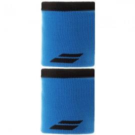 "Напульсник Babolat Logo Jumbo Ярко-синий/Серый 5"""