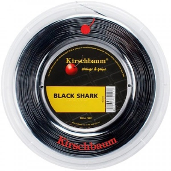 Теннисная струна Kirsсhbaum Black Shark 200 метров
