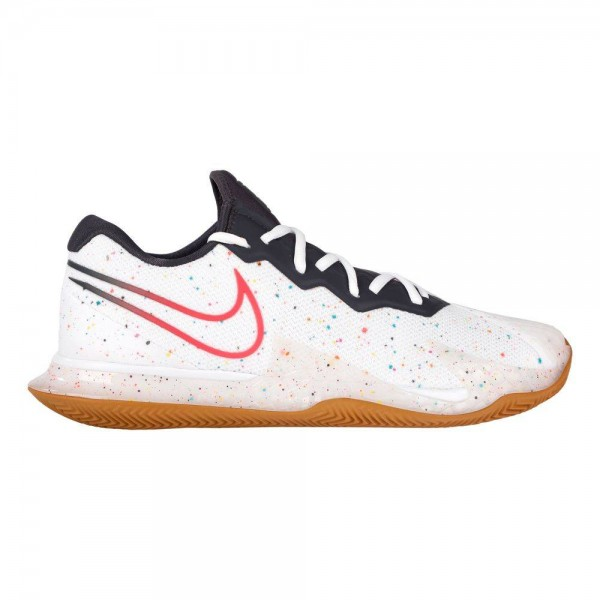 Кроссовки мужские Nike Air Zoom Cage 4 Clay - White/Laser Crimson