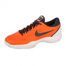 Кроссовки мужские Nike Zoom Cage 3 Clay Fluo Orange/Navy