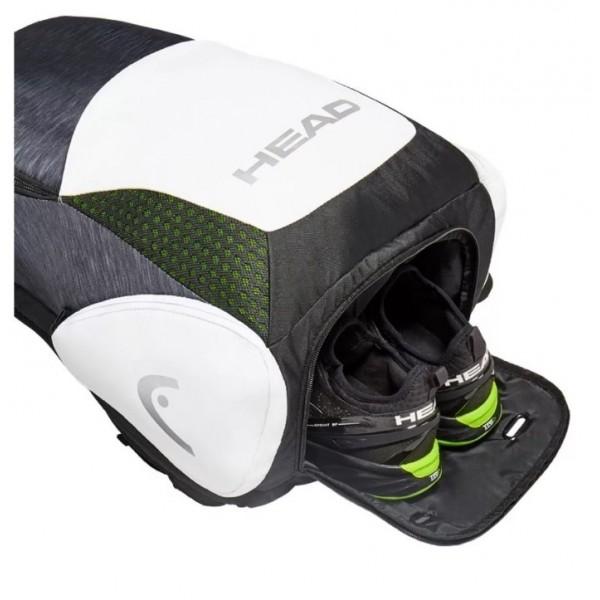 Теннисный рюкзак Head Djokovic Backpack (Черный/Белый)