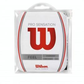 Теннисная намотка Wilson Pro Overgrip Sensation Черная 12 штук