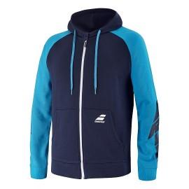 Мужское худи Babolat Drive Hood (Blue) для большого тенниса