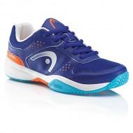 Детские кроссовки Head Lazer Junior (Blue/Orange) для большого тенниса