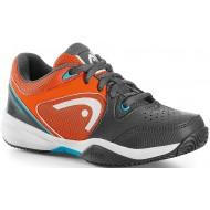 Детские кроссовки Head Revolt Junior (Grey/Orange) для большого тенниса