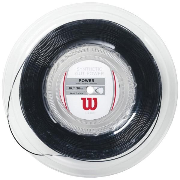 Теннисная струна Wilson Synthetic Gut Power 200 м