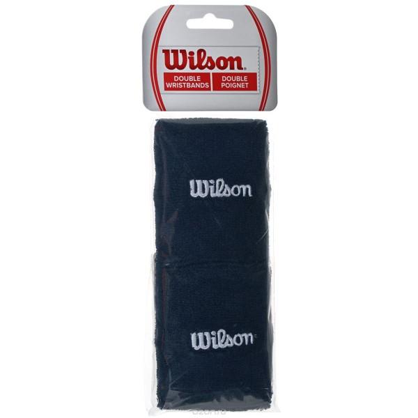 "Напульсник Wilson Double Wristbands 5"" Черный"