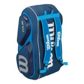Теннисная cумка Wilson Tour V Blue на 15 ракеток