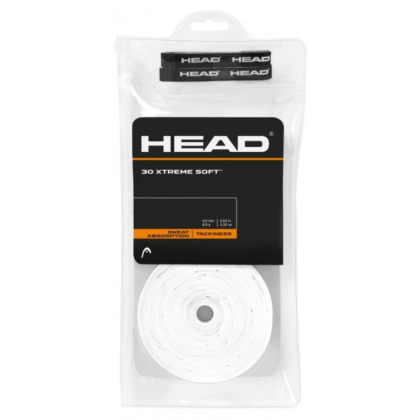 Теннисная намотка Head Xtremesoft 30 штук Белая
